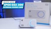 EPOS GSX300 外接音效卡 -快速查看