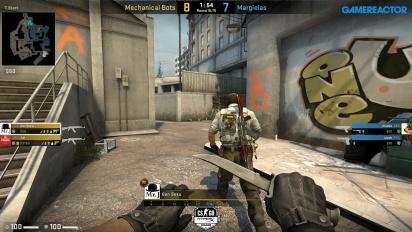 HyperX League 2v2 - Margielas vs Mechanical Bots on Overpass