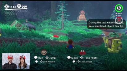Super Mario Odyssey - Co-op Mode Gameplay