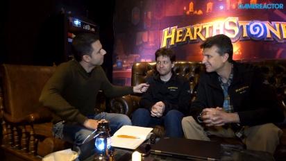 《爐石戰記:黑巫森林 & 怪物獵殺 - Mike Donais 與 Dave Kosak 訪談