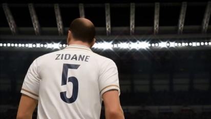 FIFA 20 - Zinedine Zidane FUT Icons Stories Reveal