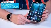 三星 Galaxy Fold 折疊螢幕手機- 快速查看