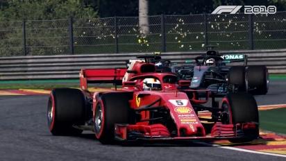 《F1 2018》- 官方  Gameplay 預告片 2:製造頭條