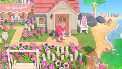 Animal Crossing: New Horizons - Sanrio Crossover Trailer