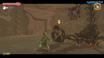 《薩爾達傳說 禦天之劍 HD》- 完整的Moldarach Boss 戰和 Temple of Time 過場動畫