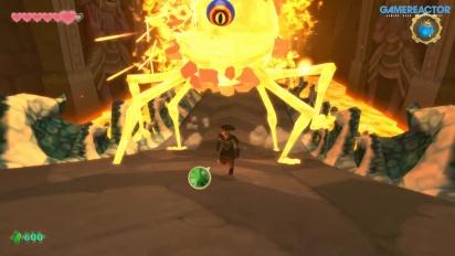 《薩爾達傳說 禦天之劍 HD》- 完整的 Scaldera Boss Battle 和 Earth Spring 過場動畫