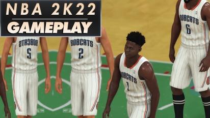 《NBA 2K22》- MyTeam 選秀國王 vs 湖人全場 PS4 遊戲玩法