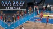 《NBA 2K22》- 三重威脅(Triple Thread  PS4 遊戲玩法