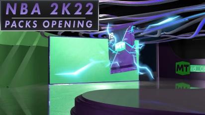 《NBA 2K22》- 打開 MyTeam 週年紀念版包