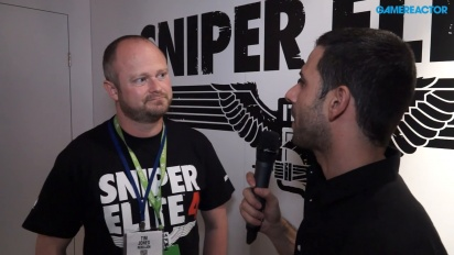 Sniper Elite 4 - Tim Jones Interview
