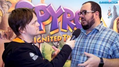 《寶貝龍 Spyro the Dragon:重燃三部曲》- Lou Studdert 訪談