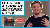 快速查看 - Lenovo 的 ThinkPad X1 Extreme