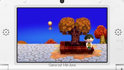 Animal Crossing: New Leaf - Dream House Trailer