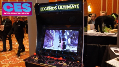 CES20 - Legends Ultimate Arcade 產品 Demo
