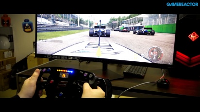 《賽車計劃2》X HP OMEN電競電腦 X Fanatec Racing Wheel - 超寬駕駛