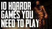 當代你必看的10大恐怖遊戲