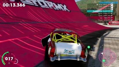 《飆酷車神2:動力世界》- 撞車比賽 (Video#4)
