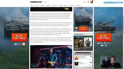 GRTV 新聞 - CD Projekt Red 超時工作開發《電馭叛客 2077》