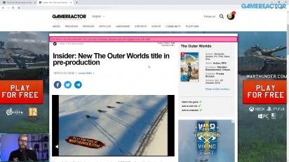 GRTV 新聞 - 《外圍世界》登上 Steam,全新作品預開發當中?