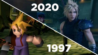 《Final Fantasy VII:重製版》- Gamereactor Gameplay 比較