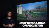 用投影機看下一世代遊戲  - BenQ TH585 DLP Projector - 快速查看