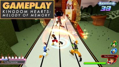 《王國之心:記憶旋律》- Gameplay