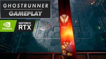 《Ghostrunner》- 光線追蹤 Gameplay