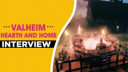 《Valheim》更新「 Hearth and Home」 - Robin Ayre 跟 Lisa Kolfjord 訪談