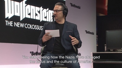 Wolfenstein II: The New Colossus - Stop The Nazis, Save America!