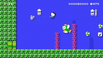 Super Mario Maker - Hello Kitty