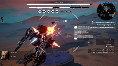 《Daemon X Machina》- 一班與額外任務 Gameplay