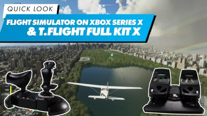 《微軟飛行模擬》在  Xbox Series X & T.Flight Full Kit X - 快速查看