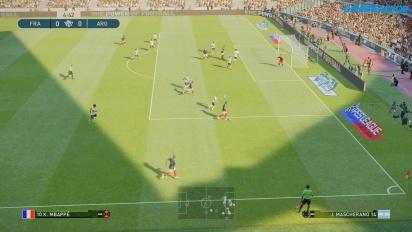 《實況足球2019》- 法國 vs 阿根廷完整賽事 Gameplay