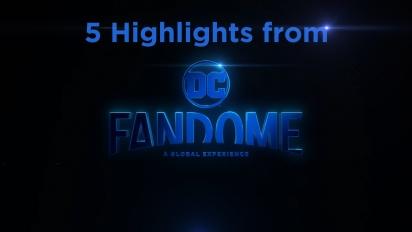 DC Fandome 上的5個亮點