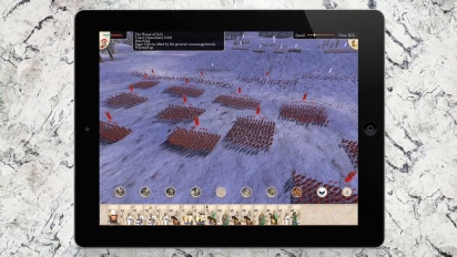 Rome: Total War - iPad Announcement trailer