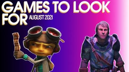 值得期待的遊戲 - 2020年8月