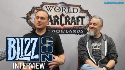 《魔獸世界®:暗影之境》- Ion Hazzikostas & Steve Aguilar 訪談