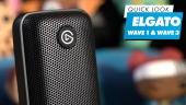 Elgato Wave 1 & Wave 2 -  快速查看