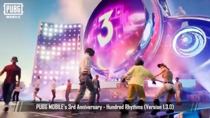 PUBG Mobile - 3rd Anniversary Trailer - Hundred Rhythms 1.3.0 Update