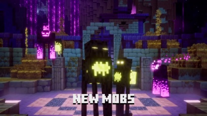 Minecraft Dungeons - Echoing Void Launch Trailer