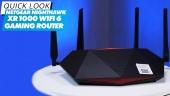 Netgear Nighthawk XR1000 Wi-Fi 6 遊戲路由器 - 快速查看