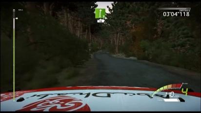 WRC 7 - Corsica Full Track Gameplay