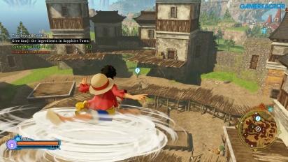 《航海王 尋秘世界》-海賊島自由漫遊 Gameplay