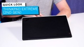 Lenovo ThinkPad X1 Extreme 第2代筆記型電腦 - 快速查看
