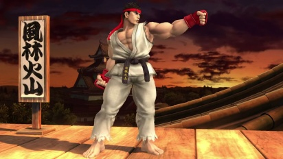 Super Smash Bros. for Wii U & Nintendo 3DS - Ryu Trailer