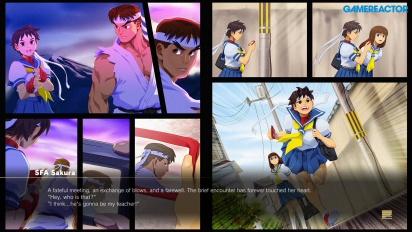 《快打旋風5:街機版》 - 快打旋風 Alpha Path - 小櫻 vs. 隆