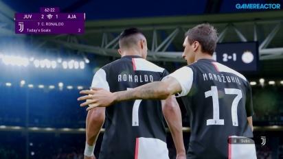 《實況足球2020》-尤文圖斯 vs 阿賈克斯 Gameplay