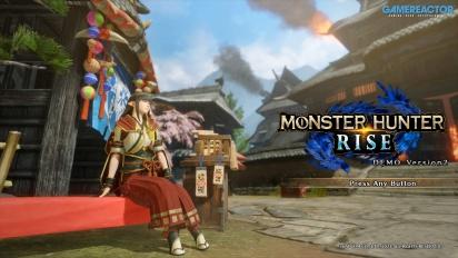 《魔物獵人 崛起》-怨虎龍 Gameplay