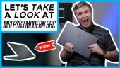 快速查看 - 微星 PS63 Modern 8RC