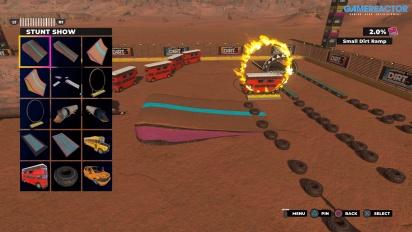 《Dirt 5》:遊樂場模式 - 地圖編輯器/創作展示